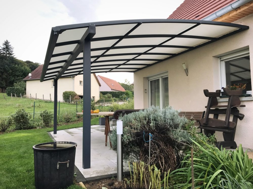 pergola adosse aluminium trendy pergola adosse alu blanc with pergola adosse aluminium finest. Black Bedroom Furniture Sets. Home Design Ideas