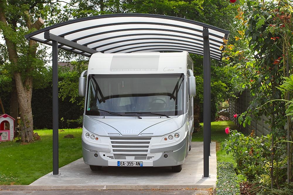 carport alu abri voiture alu ou abri camping car sur. Black Bedroom Furniture Sets. Home Design Ideas