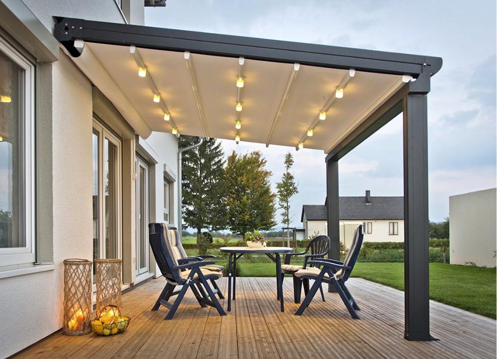pergola alu sur mesure pergola en aluminum anavi. Black Bedroom Furniture Sets. Home Design Ideas