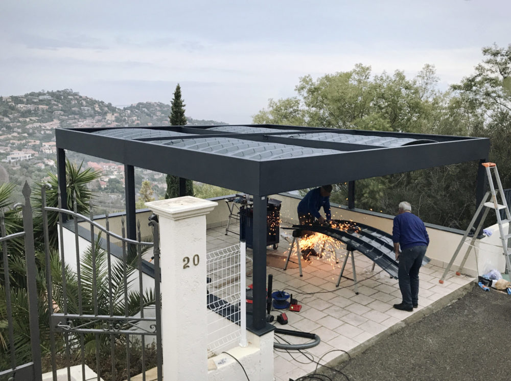 alu carport excellent carport aluminium florival with alu carport cheap luxus carport. Black Bedroom Furniture Sets. Home Design Ideas