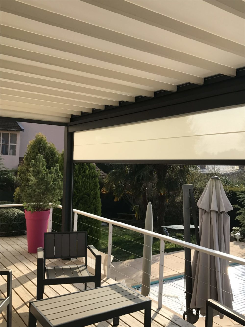 toile pergola stunning pergola gennius a doppia toile rtractable with toile pergola stunning. Black Bedroom Furniture Sets. Home Design Ideas