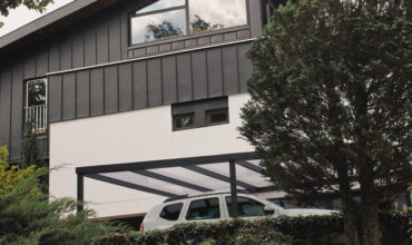 Carport adossé sur mesure à Annecy