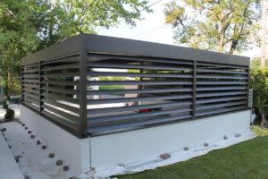 Carport en aluminium sur mesure à St Julien