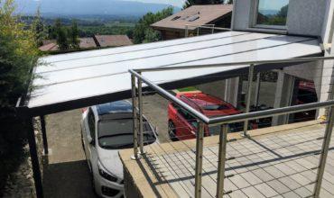Anavi Carport à toit plat