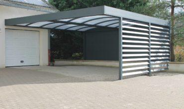 Un magnifique Carport aluminium double à Metz