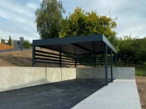 Carport sur mesure en aluminium à Aix-les-Bains