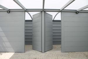 Carport sur mesure en aluminium monopan à Genève