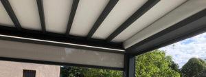 Pergola en aluminium rétractable à Villefranche